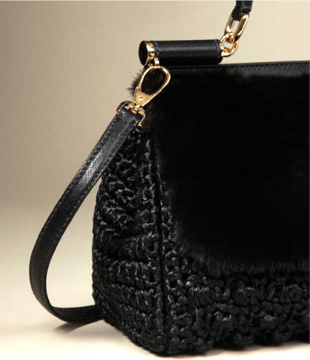 dolce gabbana crochet handbag1 5 Current Crochet Items from Dolce and Gabbana