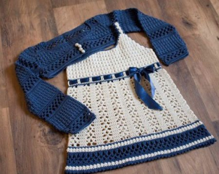free crochet dress pattern 15 Beautiful Free Crochet Patterns for Girls Dresses