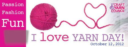 Post image for Tomorrow is I Love Yarn Day