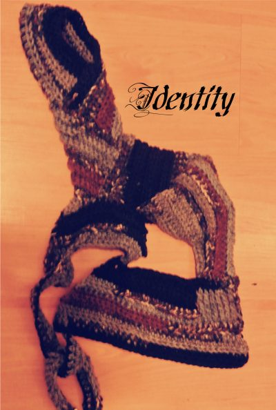 identity 400x594 Crochet Art for Papergirl SF