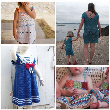 kids crochet dress patterns