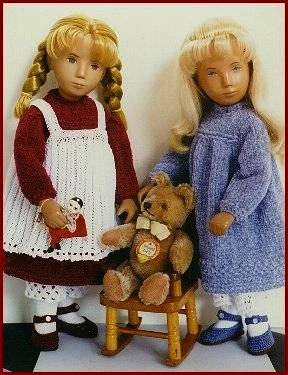 knit dolls 1970s Crochet Designers: Susanna Lewis