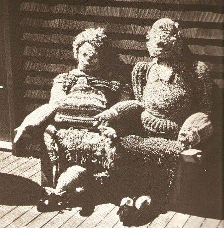 life size crochet dolls