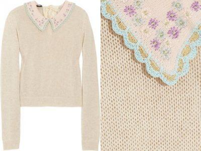 miu miu crochet sweater 400x300 Designer Crochet: Prada