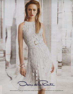 Post image for Designer Crochet: Oscar de La Renta