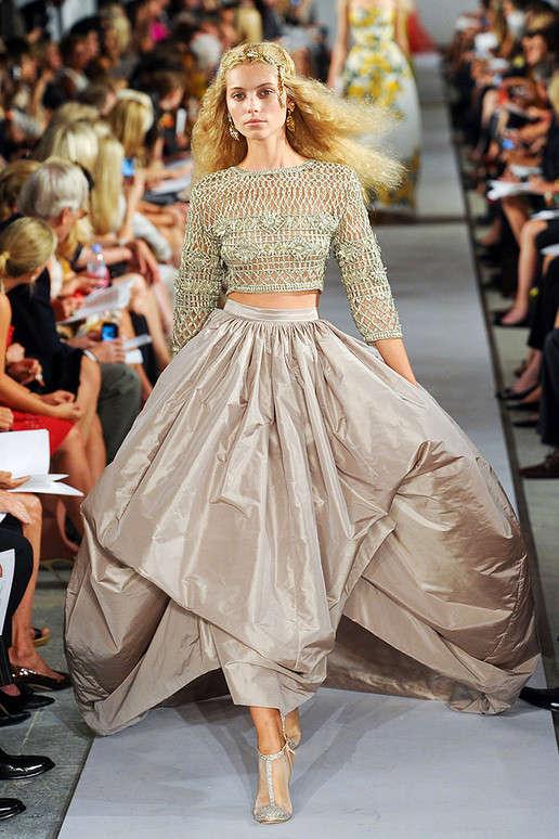 Spring Fashion  Oscar De La Renta