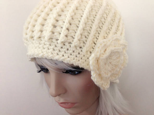 Crochet Stitches For Beanies : of post stitches so I was happy to see this post stitch crochet beanie ...