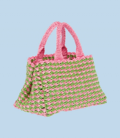 prada crochet handbag 400x461 Crochet Blog Roundup: October in Review