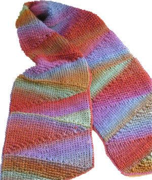 tunisian crochet scarf kim guzman The Crochet Kims: Kim Guzman and Kim Werker