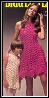 vintage crochet dress 15 Beautiful Free Crochet Patterns for Girls Dresses