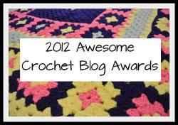 2012 blog awards small Kathryn Vercillos 2012 Awesome Crochet Blog Awards