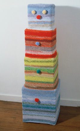 crochet art sculpture