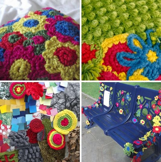 crochet artist furniture