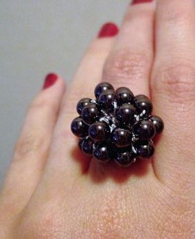 crochet bead ring Crochet Jewelry Ideas for Christmas Including 10 Free Crochet Patterns
