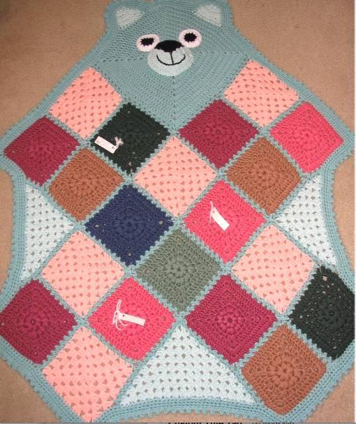 Do? vient lAfghan de nom Granny Square? (+ 5 Crochet ...