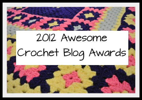 crochet blog awards