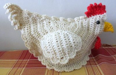 crochet chicken 400x261 Crocheting Through Chronic Fatigue (Debbies Story)