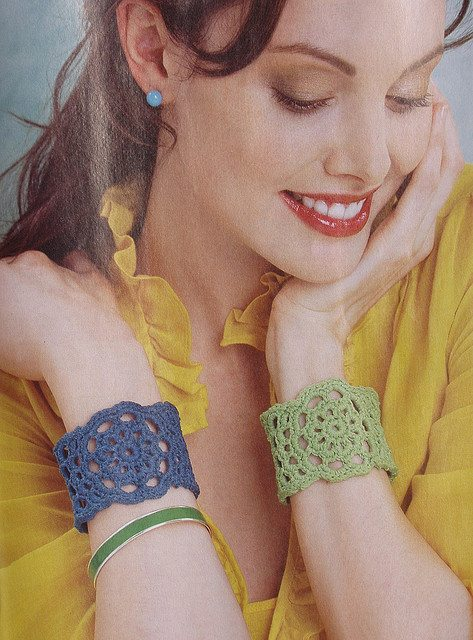 crochet cuff bracelet 25 Most Popular Free Crochet Patterns