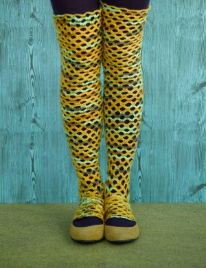Post image for Crochet Pattern: Scallop Crochet Leg Warmers