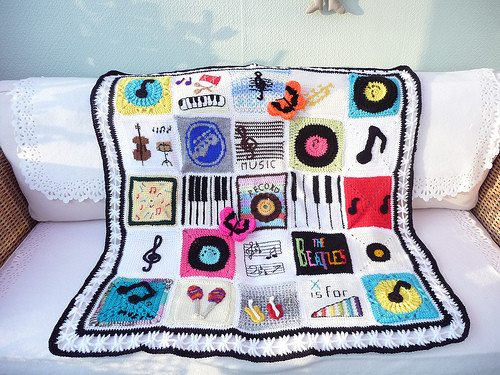 crochet music Hot Crochet Link Love From The Week