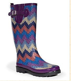 crochet rainboots 20 Years of Crochet in The Sak Store