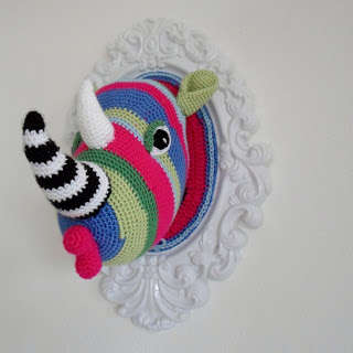 crochet rhino Link Love! Best Crochet Blog Posts of the Week