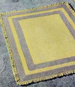 crochet rug pattern Weighted Crochet Blankets for Children with Sensory Integration Dysfunction