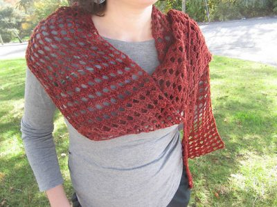 crochet scarf 400x300 Poetry in Yarn At the Bakery Crochet Pattern Booklet and PDF Giveaway