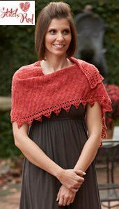 crochet shawl Stitch Red Crochet Patterns