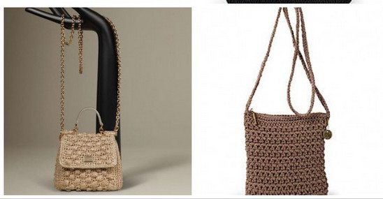 cross body crochet bag Are You Dolce and Gabbana or The Sak Crochet?