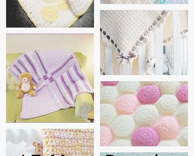 15 Most Popular Free Crochet Baby Blanket Patterns – Crochet ...
