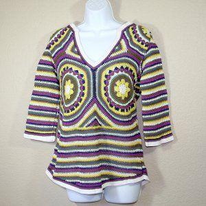 retro tory burch crochet Designer Crochet: Tory Burch
