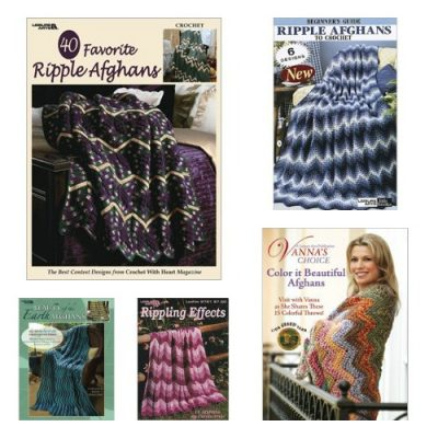 ripple afghan books 400x400 Join the Ripple CAL Hosted by Underground Crafter and Win Prizes!