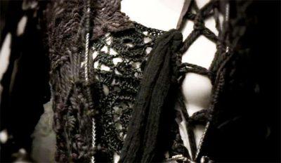 rodarte black crochet 400x232 Designer Crochet: Rodarte