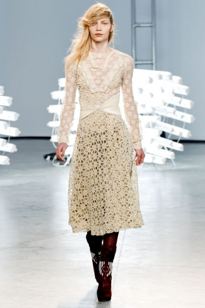 rodarte crochet inspiration 400x599 2012 in Crochet: Crochet Fashion