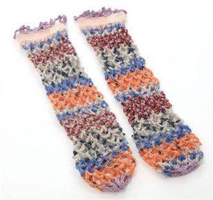 rodarte crochet socks Designer Crochet: Rodarte