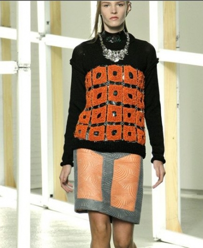 rodarte summer 2013 crochet 400x487 100 Unique Crochet Shirts and Sweaters