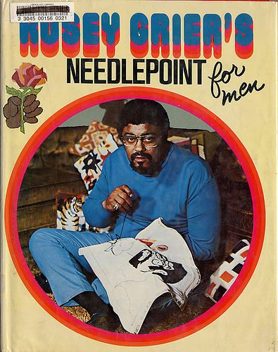 rosey grier Unique 1970s Crocheter: Pro Football Player Rosey Grier