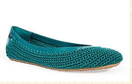 sak crochet ballet shoe 20 Years of Crochet in The Sak Store