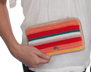 sak crochet clutch bag 20 Years of Crochet in The Sak Store