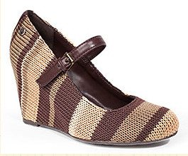 sak crochet wedge shoe 20 Years of Crochet in The Sak Store