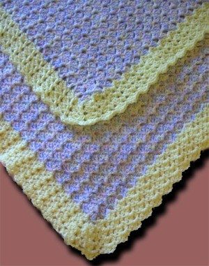 project linus crochet baby blanket pattern