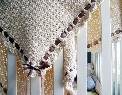 tiramisu baby blanket 400x314 15 Most Popular Free Crochet Baby Blanket Patterns