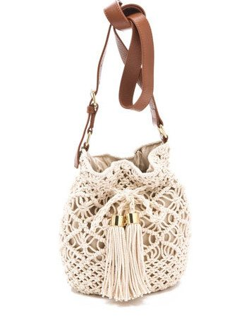tory burch crochet bag Designer Crochet: Tory Burch