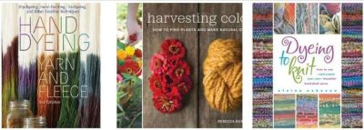 yarn dyeing books 400x143 Then and Now in Crochet (11/25   12/1)