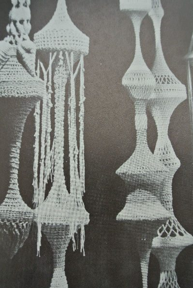 1970s crochet hanging The Wonderful World of Dona Z. Meilach (1970s Crochet)