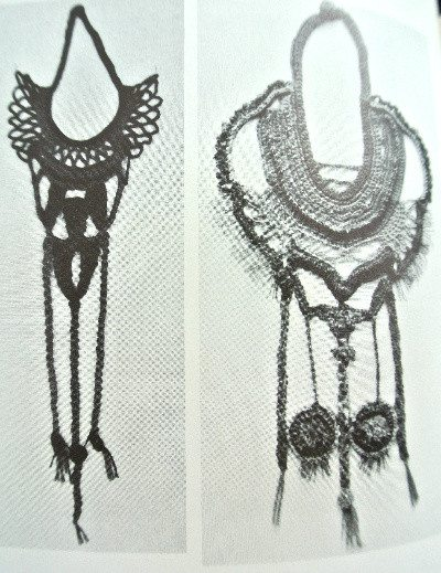 1970s crochet jewelry minkowitz The Wonderful World of Dona Z. Meilach (1970s Crochet)