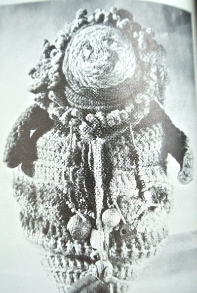 1970s crochet sculpture doll The Wonderful World of Dona Z. Meilach (1970s Crochet)