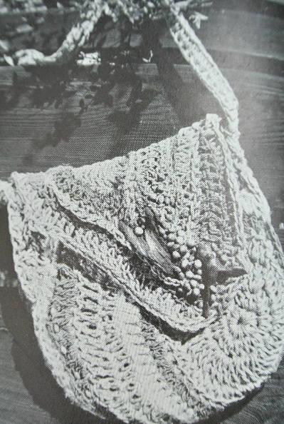 1970s jute crochet bag The Wonderful World of Dona Z. Meilach (1970s Crochet)