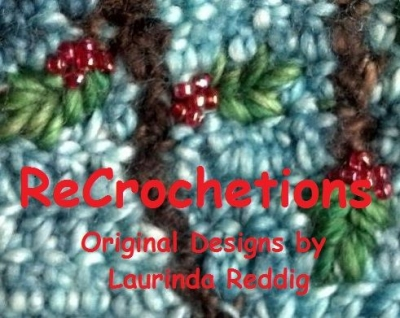 ReCrochetions Logo 400x318 Day 8 of 12 Days of Crochet Christmas: Win a Crochet Sampler Pattern Book